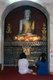 Thailand: Two Shan (Tai Yai) girls praying at Wat Pa Pao (Shan temple), Chiang Mai, northern Thailand